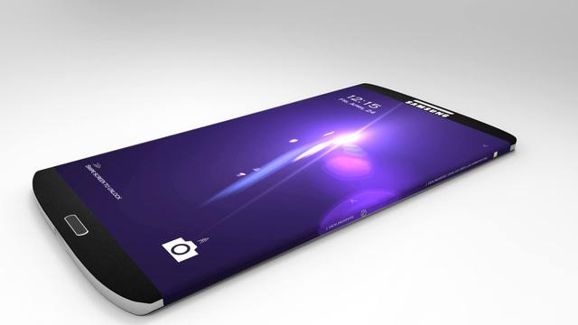Một mẫu thiết kế Samsung Galaxy S6 Edge