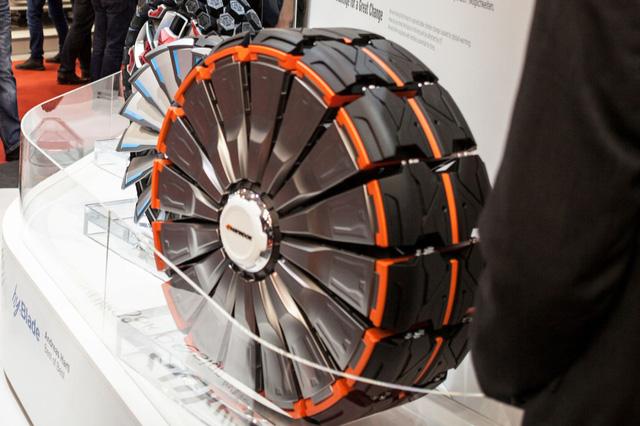 Mẫu thiết kế lốp xe Alpike