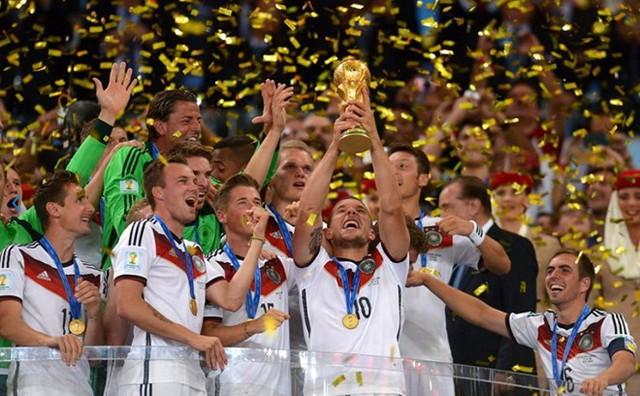 Đội tuyển Đức tiếp tục dẫn đầu BXH FIFA/Coca-Cola World Ranking