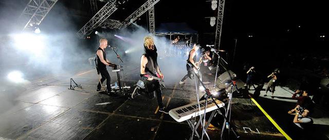 Ban nhạc Carpark North - một trong 2 nhóm nghệ sĩ đến từ Đan Mạch.