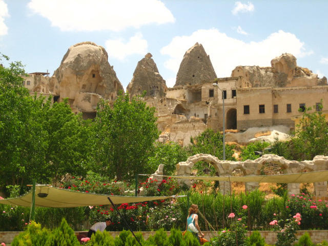 Một trong số ít những thị trấn của Thổ Nhĩ Kỳ còn giữ tập tục canh tác nông nghiệp tới ngày nay.