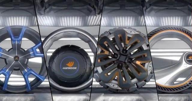 Các mẫu lốp xe biến hình