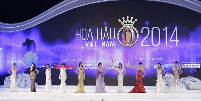 Top 10 của Hoa hậu Việt Nam 2014