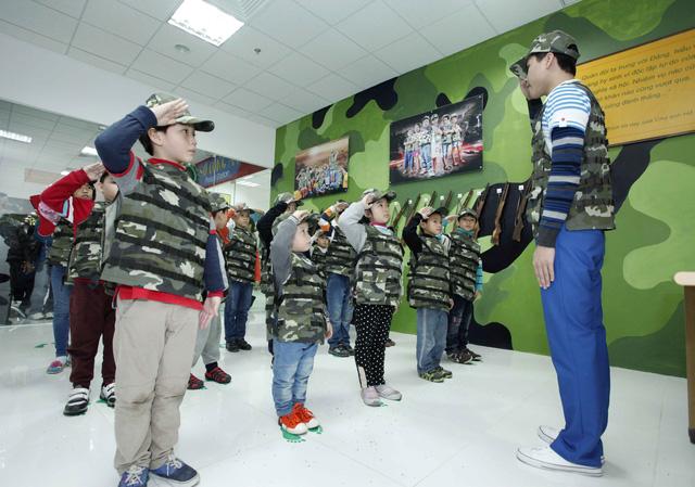Trung tâm vui chơi giáo dục VinKE dành riêng cho các thượng đế nhỏ tuổi