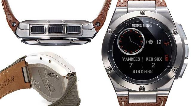 MB Chronowing có thiết kế khác biệt so với các smartwatch khác trên thị trường