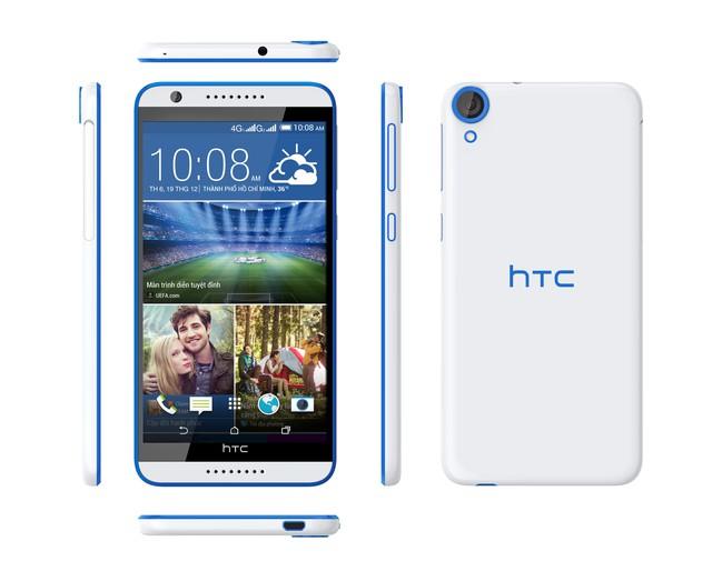 HTC Desire 820S được trang bị bộ vi xử lý lõi 8