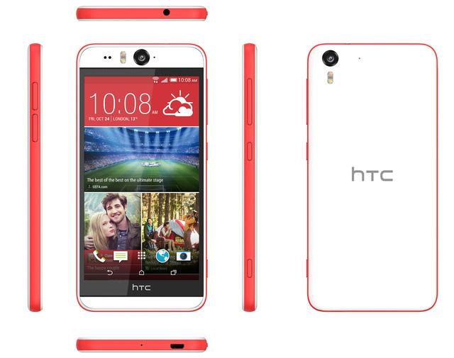 HTC Desire EYE, mẫu smartphone lý tưởng cho người dùng thích selfie