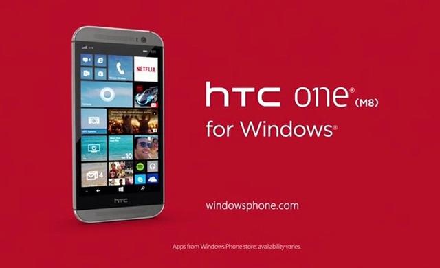 HTC One M8 for Windows đã được loại bỏ từ Phone