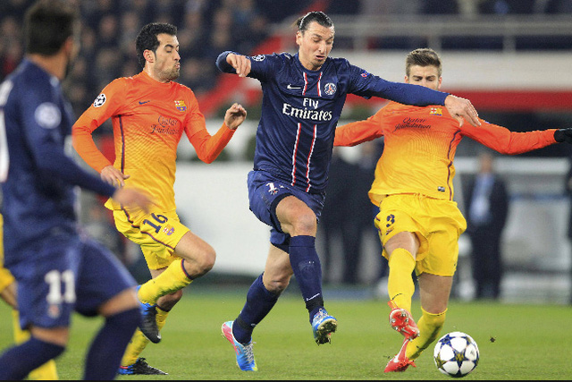 Ibrahimovic không có cơ hội gặp lại đội bóng cũ Barcelona