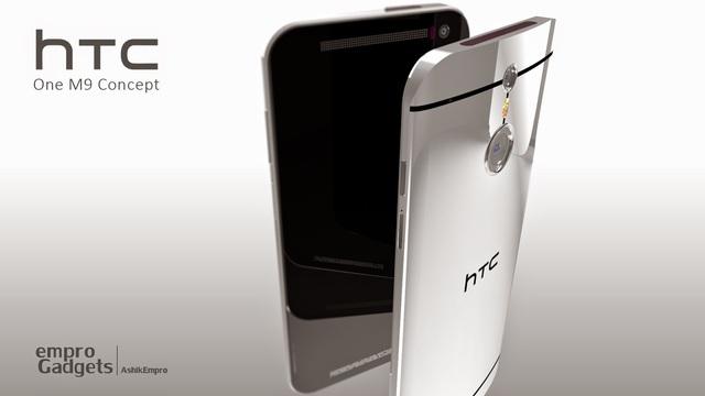Một mẫu thiết kế của chiếc HTC One M9