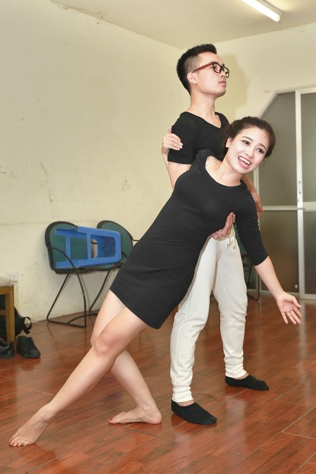 Dương Hoàng Yến - Hà Duy chuẩn bị cho Liveshow 7 Cặp đôi hoàn hảo