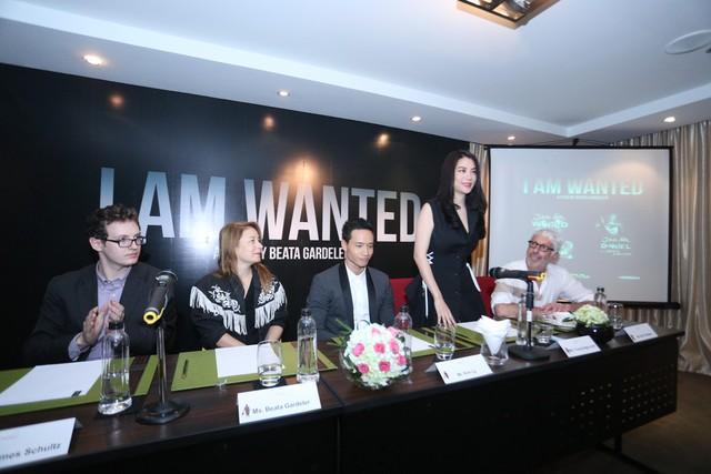 Ê-kíp thực hiện dự án sản xuất I am wanted.