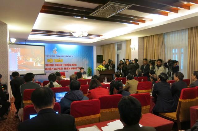Hội thảo Sản xuất chương trình Truyền hình về đề tài Nông nghiệp và Phát triển nông thôn