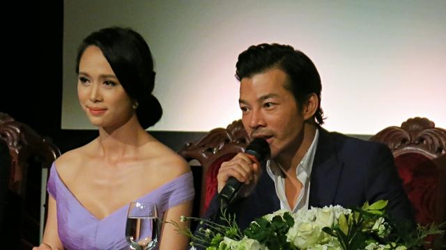 Vũ Ngọc Anh và Trần Bảo Sơn - hai diễn viên chính trong bộ phim