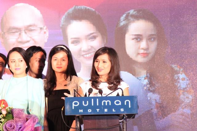 Bà Lê Bình - GĐ Trung tâm Tin tức VTV24