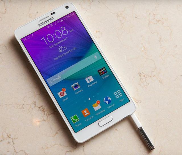 Samsung ra mắt Galaxy Note 4 cấu hình cực mạnh