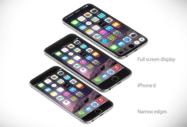 Một số mẫu thiết kế iPhone 7 so sánh với chiếc iPhone 6 đình đám