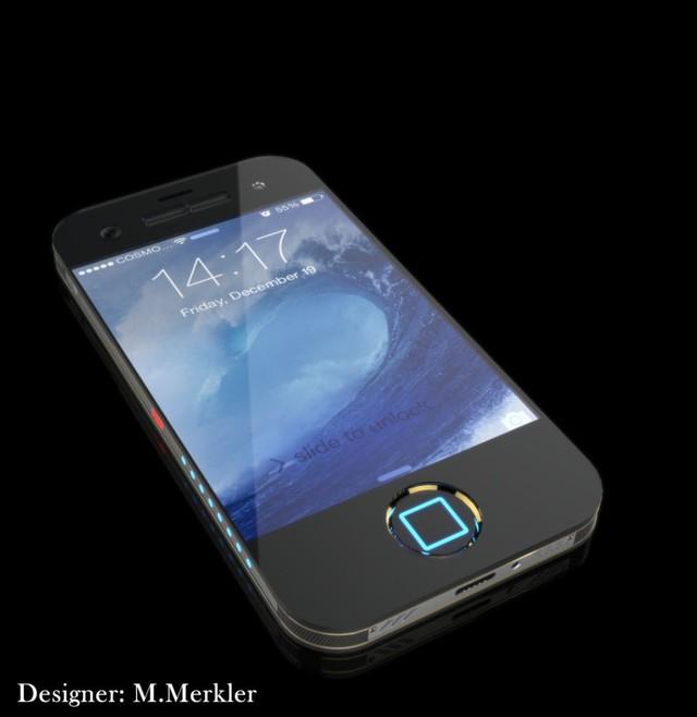 Mặt trước của mẫu thiết kế iPhone 8 của M. Merkler