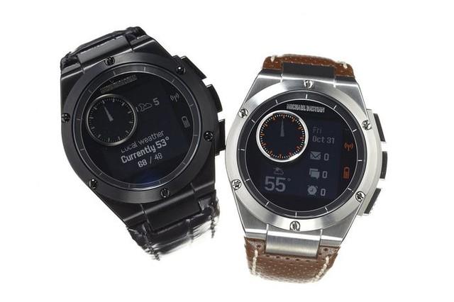 Khác với Apple hay Google, HP dường như tập trung vào thiết kế sang trọng của smartwatch hơn là nhiều tính năng