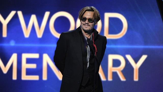 Johnny Depp tại buổi lễ