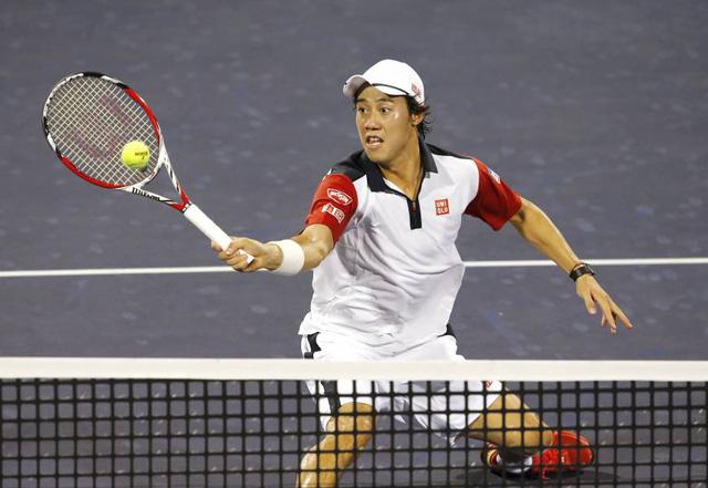 Kei Nishikori bất ngờ thất bại sau chuỗi trận thăng hoa