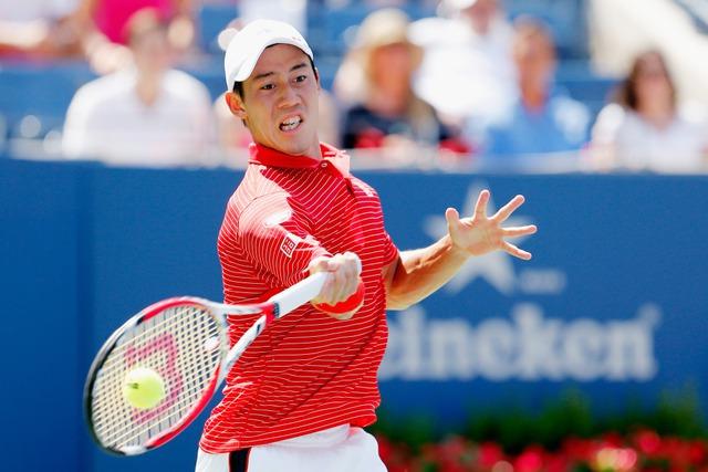 Kei Nishikori là cây vợt nam châu Á đầu tiên vào chung kết một giải Grand Slam