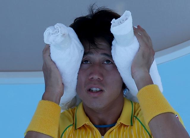 Kei Nishikori  từng thua ngay tại vòng 1 US Open 2013