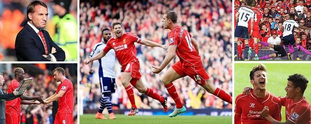 Liverpool cũng vừa có được 3 điểm đầu tiên sau 3 vòng đấu chỉ hòa và thua tại Premier League.