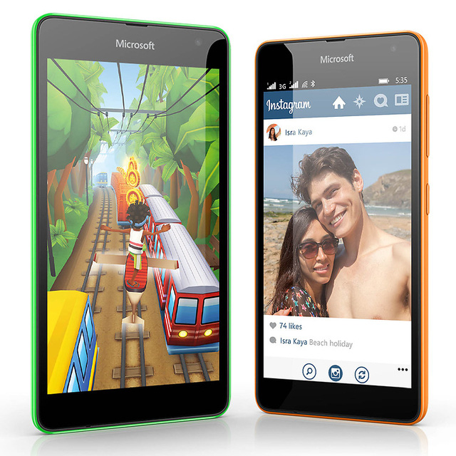 Lumia 535 đã chính thức được Microsoft cho ra mắt vào ngày 11/11