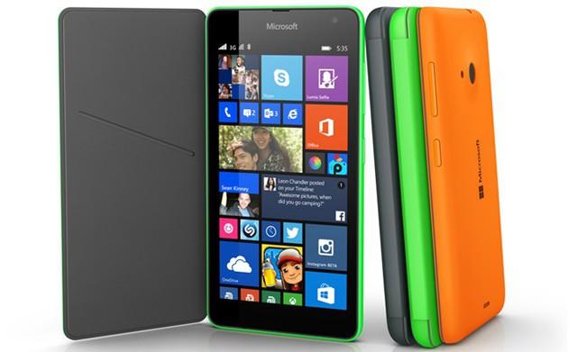 Lumia 535 có nhiều chọn lựa về màu sắc
