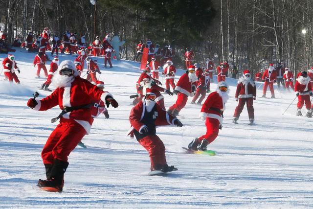 Các vận động viên trượt tuyết tại Sunday River Ski Resort ở Newry, Maine. (Nguồn: Reuters)