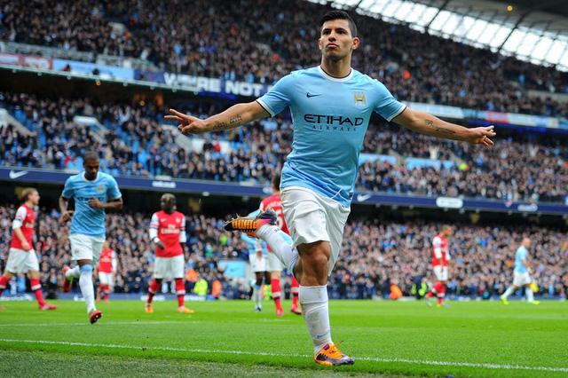 Aguero sẽ mang về chiến thắng đầu tay cho Man City tại Champions League