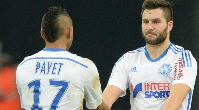 Payet và Gignac là cặp đôi ăn ý giúp Marseille bay cao.