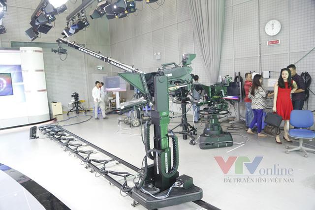 Camera Robotic được thiết lập hành trình tự vận hành.