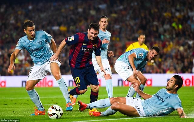 Messi vừa ghi bàn thắng thứ 250 trong màu áo Barca