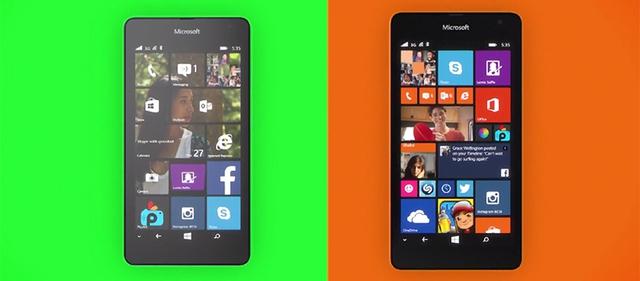 Lumia 535 tích hợp sẵn các dịch vụ tiện ích của Microsoft như OneDrive, Skype, OneNote...