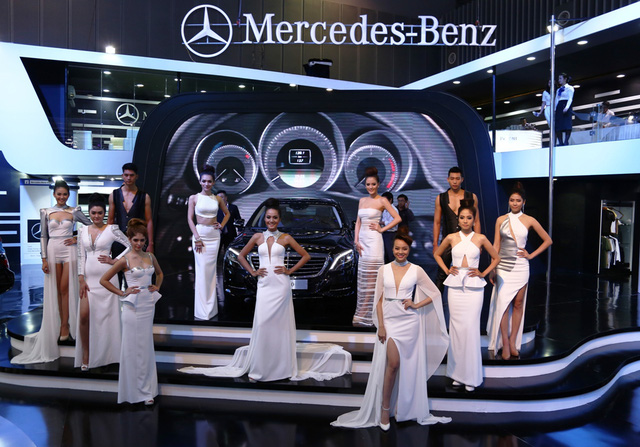 Mercedes-Benz thể hiện đẳng cấp hãng xe hạng sang với thị phần lớn nhất