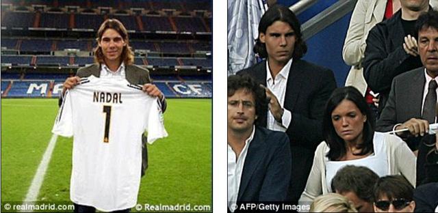 Nadal là fan ruột của Real Madrid
