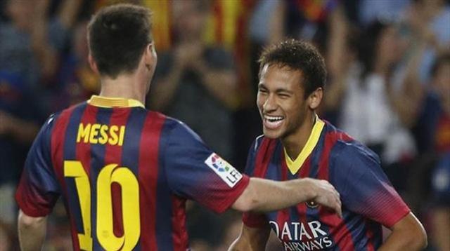 Neymar và Messi đang thi đấu rất hay