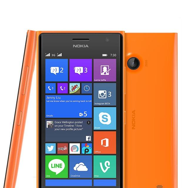 Lumia 730 được trang bị camera sau với độ phân giải 6,7 MP, hỗ trợ quay video chất lượng Full HD 1080p