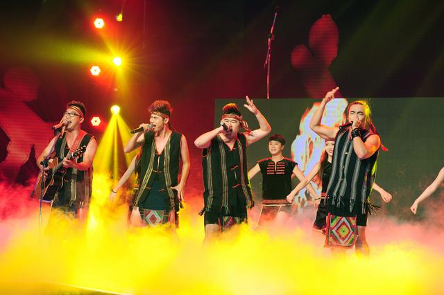 Các già làng F-Band trong đêm thi Bán kết