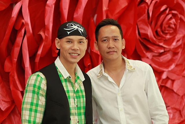 Phan Đinh Tùng và ca sĩ Duy Mạnh.