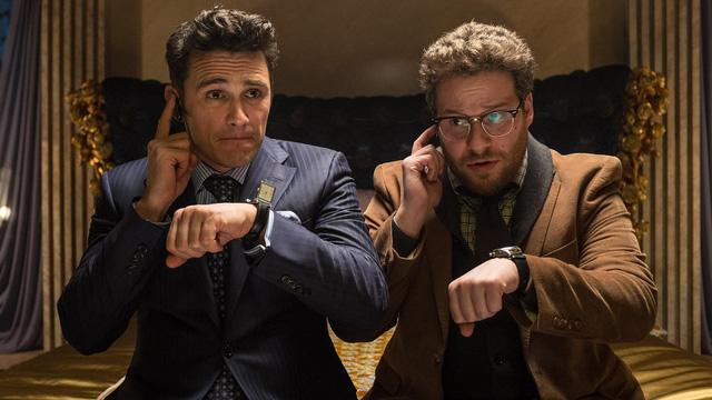 James Franco và Seth Rogen trong phim