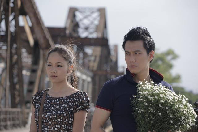 Hai nhân vật chính của phim - Long và Nhi