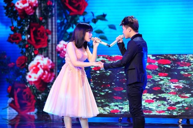 Thảo My song ca cùng Thái Ngân - Chí Thành trong 2 ca khúc Marry you và Đêm tinh nhân
