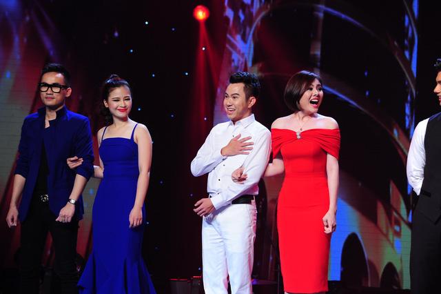 Cặp đôi được yêu thích nhất tuần đầu tiênqua số lượng tin nhắn bình chọn của khán giả là Vân Trang – Quốc Đại