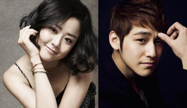 Moon Geun Young và Kim Bum