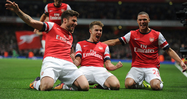 Arsenal không hề e sợ khi phải làm khách trên sân của Liverpool