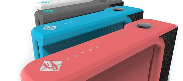 Prynt có thiết kế nhỏ gọn, có thể gắn vào điện thoại như một chiếc ốp lưng