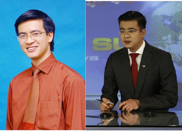 BTV Quang Minh, một trong số những BTV giữ sóng bản tin thời sự 19h của VTV